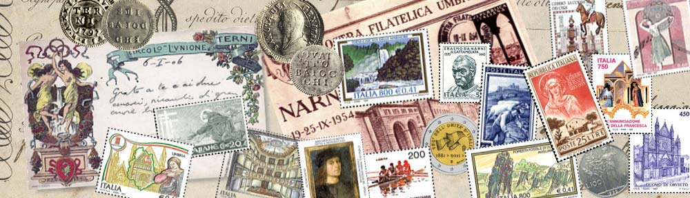 """Circolo Filatelico Numismatico """"Rodolfo M. Borzacchini"""" – Terni"""