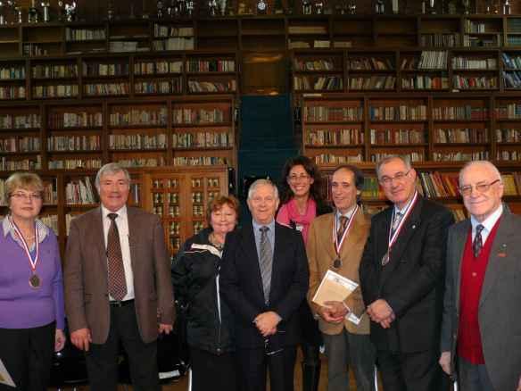 Nicole Lefort, Alain HecqNuet, Teresa e Jacques Probst, Denise Borzacchini, Bruno Vescarelli, Dominique Bidault e Nicola Socci
