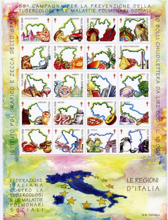 1996 - 59^ Campagna Antitubercolare