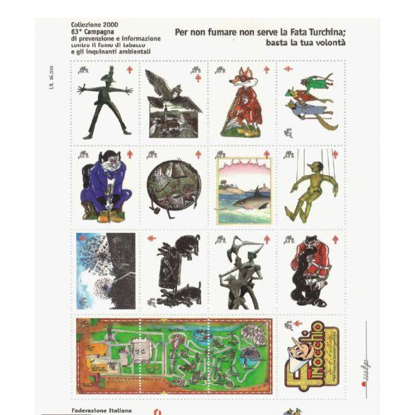 2000 - 63^ ed Ultima Campagna  Antitubercolare