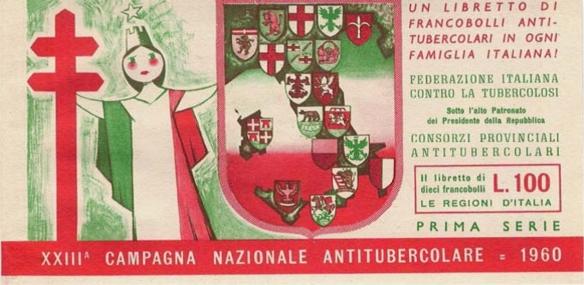 XXIII^ Campagna Nazionale Antitubercolare - prima serie, 1960