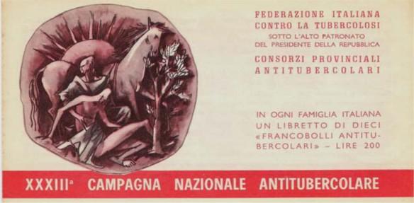 XXXIII Campagna Nazionale antitubercolare - 1970