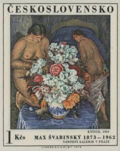 1972, Kytice, Bouquet 1914  di Max Svabinsky, Galleria Nazionale, Praga.
