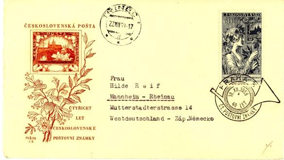 40 anni del primo francobollo cec-