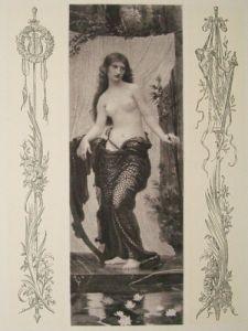 Allegorie 1898 Max Svabinsky