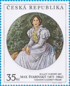 Ela Vejrychová, la sua prima moglie