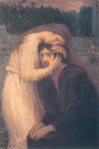 Max Svabinsky, new_zielsverwantschap, Olio su tela, 65,5 x45, 5 cm, 1896