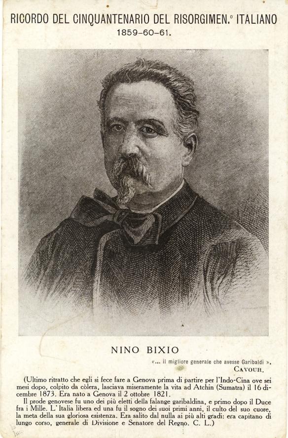 cartolina Nino Bixio