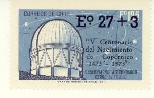 Cile 1971, per il V°centenario della nascita di Copernico.