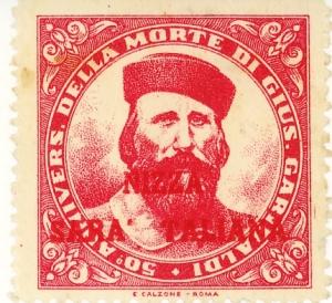 Erinnofilo di Giuseppe Garibaldi dei primi anni'30, abbastanza raro.