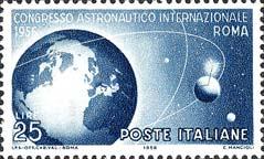 Italia, 22 Settembre 1956, Congresso Astronautico internazionale a Roma