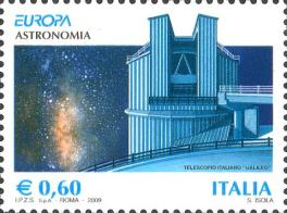 Italia, euro1_big0,60 € - Telescopio Galileo