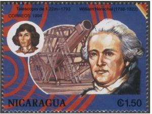 Nicaragua 1994, Herschel e Copernico
