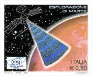Partecipazione italiana al programma di esplorazione di Marte, Italia, 21 Settembre 2005, satellite in orbita attorno a Marte