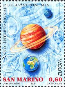 San Marino, 2009, 0,60 € - Pianeti