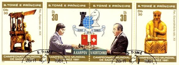 Sao Tomè e principe, serie di francobolli dedicati al Mondiale 1981