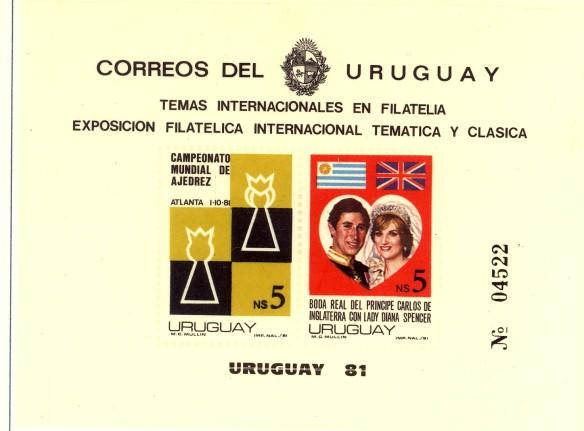 Uruguay 19811, Campionato del Mondo di scacchi