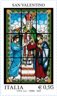 vetrata-dedicata-a-san-valentino-che-benedice-sabino-e-serapia