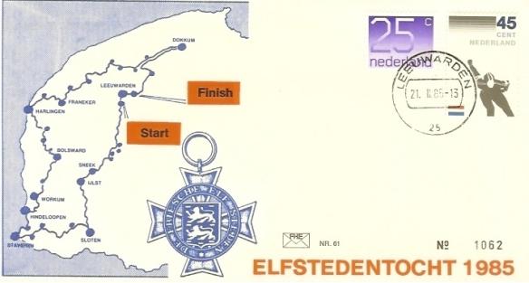 1985 -Olanda - Elfstedentocht 1985- 1