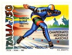 1995, Italia, Campionato mondiale maschile di pattinaggio velocità su ghiaccio