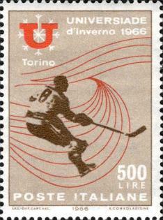 Universiade d'Inverno - Giocatore di hockey su ghiaccio, 1966
