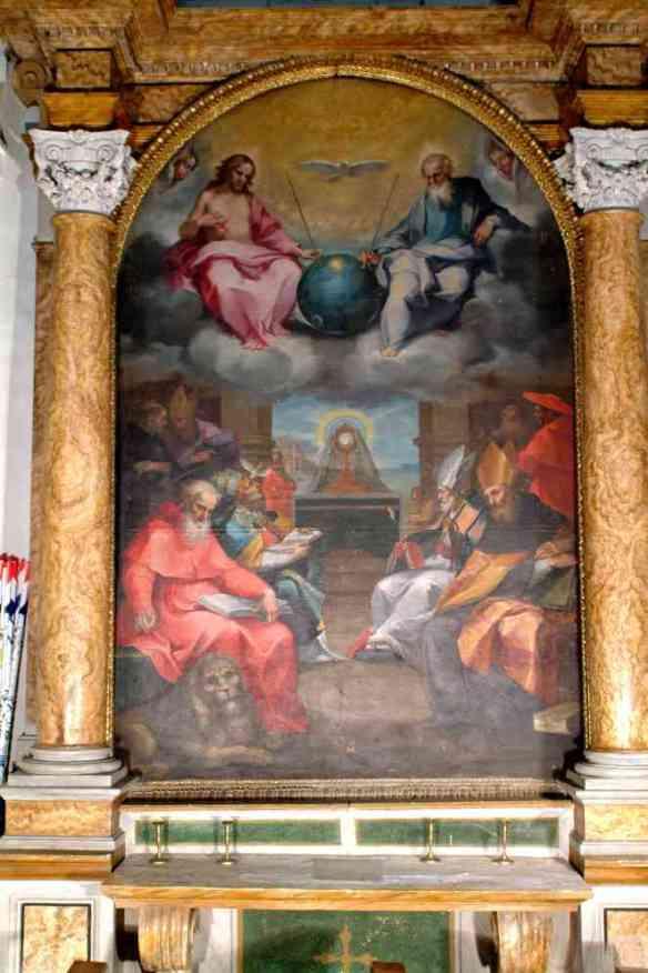 Esaltazione dell'Eucaristia di Ventura Salimbeni