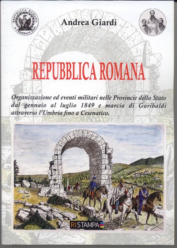 Copertina del libro Repubblica Romana