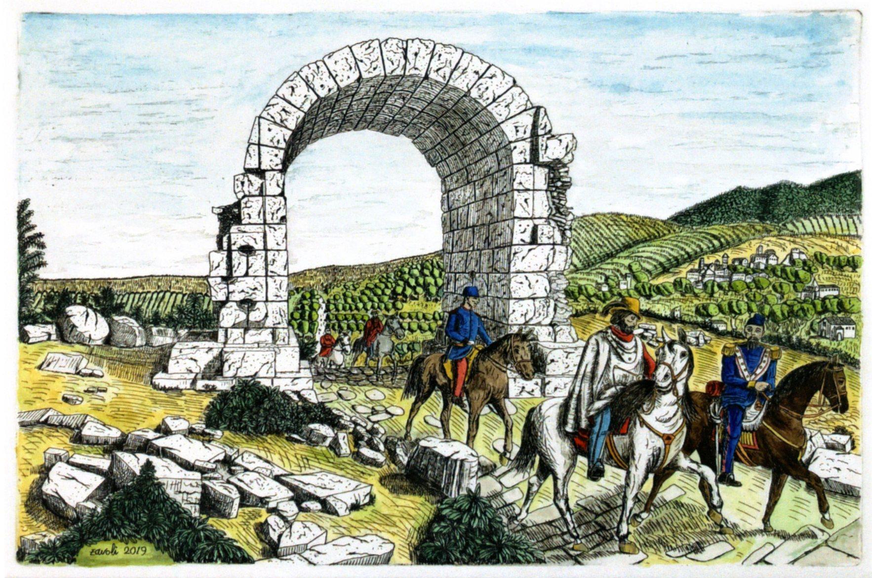 Garibaldi a Carsulae