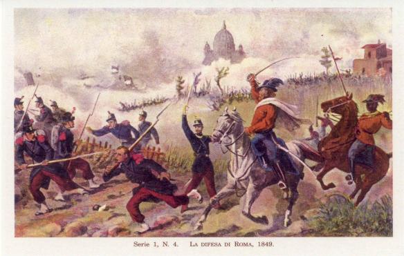 GARIBALDI alla difesa di Roma