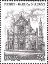 Basilica di santa Croce, a Firenze - 3 maggio 1995