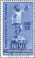 Il Perseo di Cellini22, maggio 1950