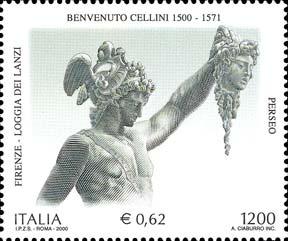 il Perseo, opera di Benvenuto Cellini - 3 novembre 2000