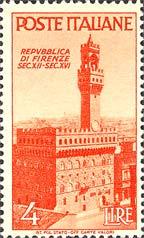 Palazzo della Signoria, a Firenze - 31 ottobre 1946