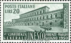 Palazzo Pitti a Firenze - 22 maggio 1950