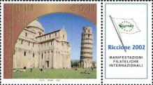 Piazza dei miracoli, a Pisa - 30 agosto 2002