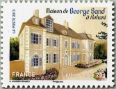 Dal libretto Patrimonio della Francia, casa di George Sand