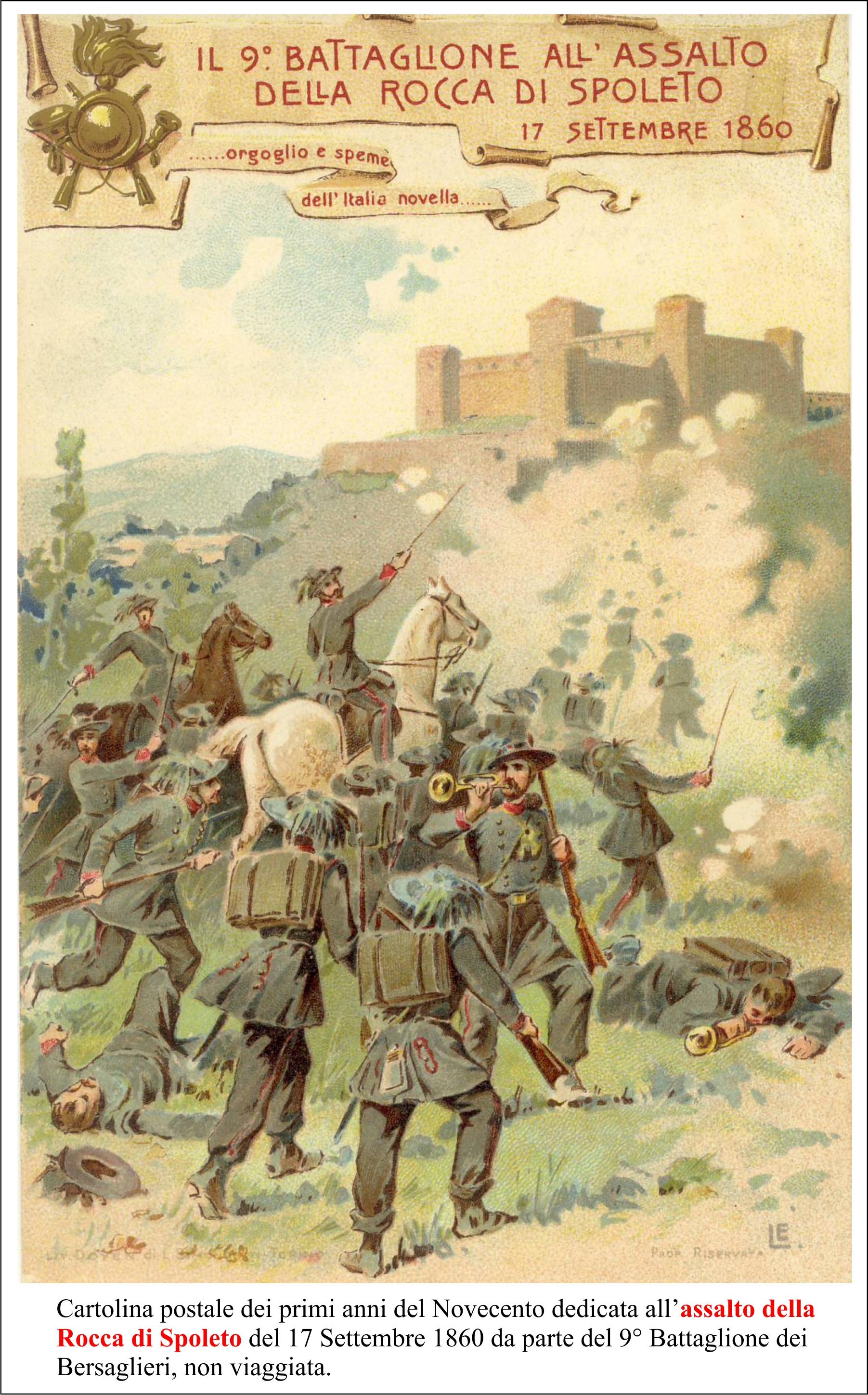 Assalto alla Rocca di Spoleto definitivo