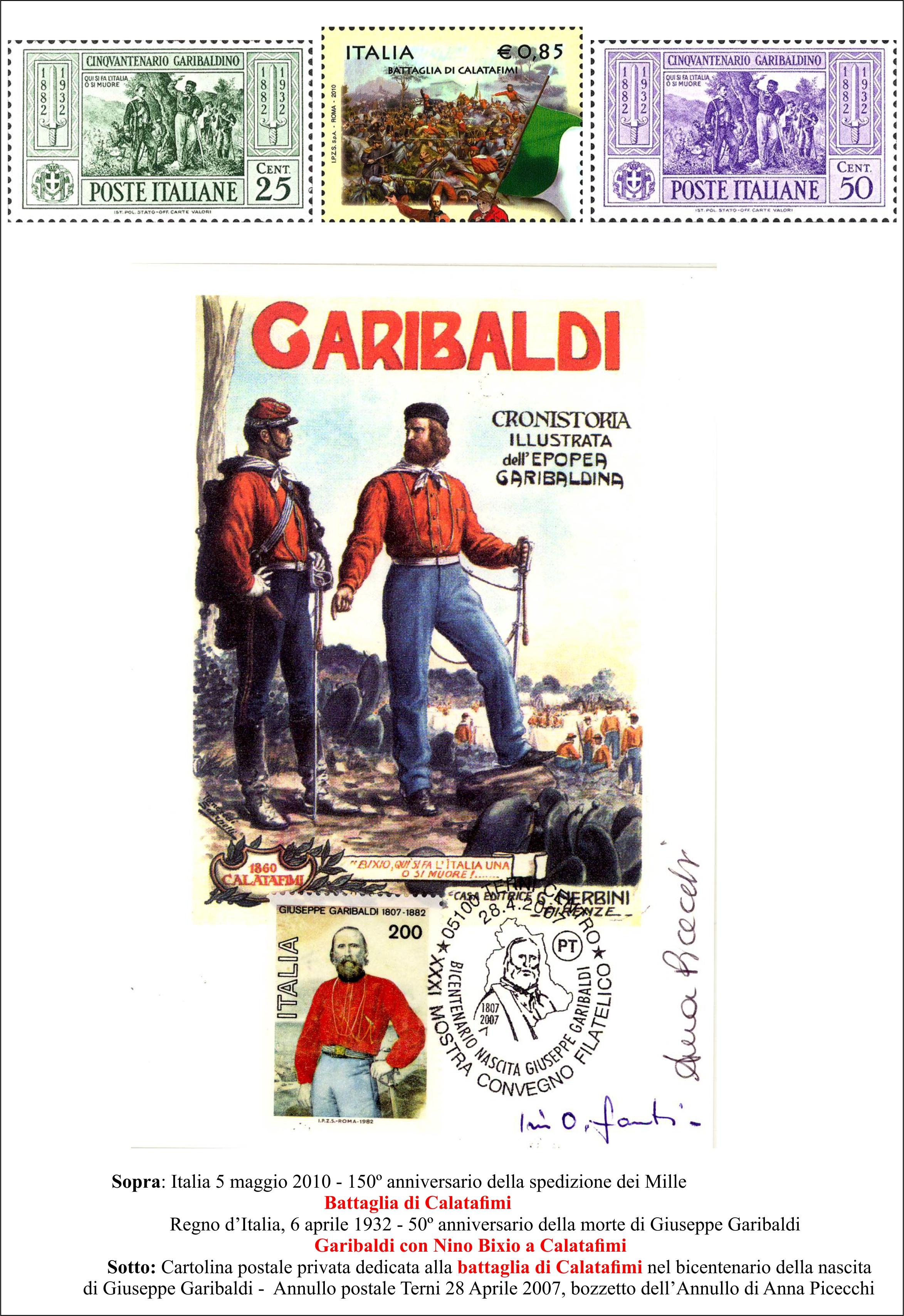 Garibaldi a Calatafimi