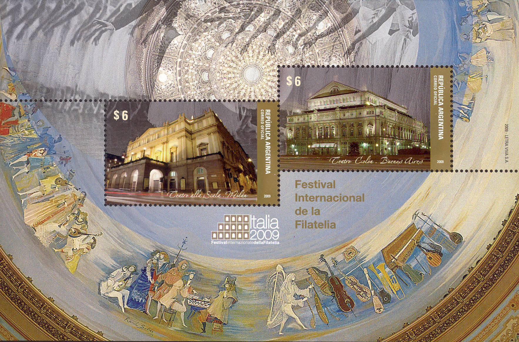 Teatro alla Scala e Teatro Colon
